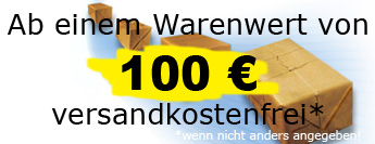 Ab 100 Euro versandkostenfrei