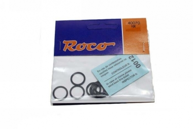 Roco 40070 10x Haftreifen DC 12,9-14,6 mm H0 NEUWARE