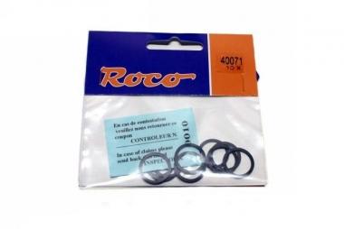 Roco 40071 10x Haftreifen DC 14,7-16,5 mm H0 NEUWARE