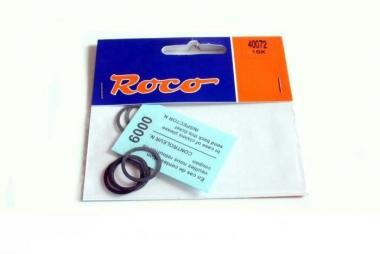 Roco 40072 10x Haftreifen DC 16,8-19 mm H0 NEUWARE