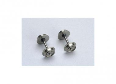 Piko 56052 2x Radsatz 10,3 mm mit 1 Isolierbuchse H0 NEUWARE