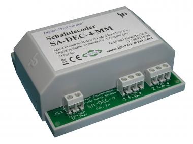 Littfinski 210313 SA-DEC-4-MM-G 4fach Schaltartikeldecoder Motorola NEUWARE