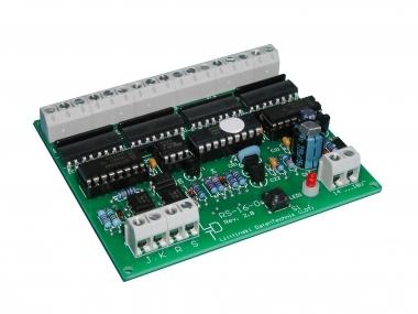 Littfinski 310202 RS-16-O-F 16fach Rückmeldemodul m. Optokopplern NEUWARE