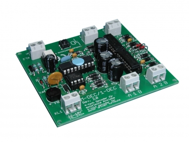 Littfinski 410412 M-DEC-DC-F 4fach-Decoder motorische Weichenantrieb DCC NEUWARE
