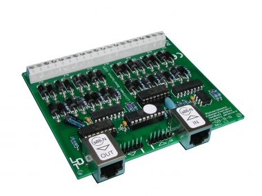 Littfinski 320102 RM-GB-8-N-F 8fach Rückmeldemodul m.Gleisbesetztmeldung NEUWARE